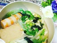 關東煮野菜健康烏龍麵