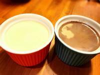 水波爐製作巧克力雞蛋布丁及雞蛋布丁