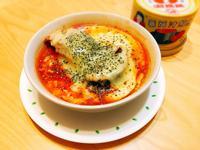 焗烤蕃茄鯖魚(快速下酒菜)