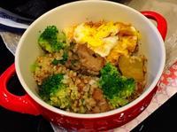 紅藜糙米煲仔飯(鼓汁排骨)