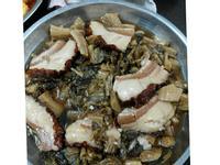 简易版梅菜扣肉