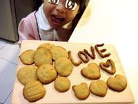 親子手作烘焙~花生餅乾