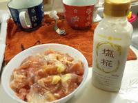鹽麴風味雞腿肉炒甜椒