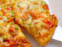 干貝鮮蝦披薩