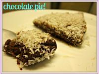 [食譜] 巧克力派- 快速、免烤箱!