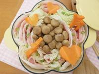可愛森林系「千層白菜豬肉鍋」❤