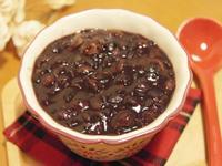 免浸泡,快速完成「紫米紅豆桂圓湯」♪