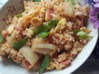 韓式火腿泡菜蛋炒飯