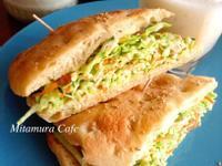 涼拌雞絲生菜三明治