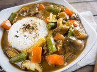 羊肉蔬菜咖哩飯@Selina Wu