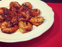紅麴乾燒大蝦