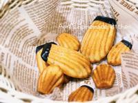 香蕉巧克力瑪德蓮 (無泡打粉)