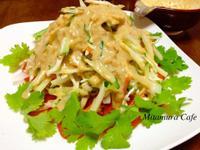 日式棒棒雞(附芝蔴醬汁做法)