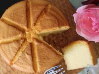 鮮奶米戚風蛋糕(無麩質配方)
