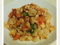 美味低卡料理-偽蝦仁蕃茄炒蛋