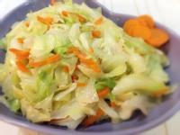 簡單俐落《蒜香蝦皮高麗菜》