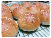全麥蛋白漢堡麵包