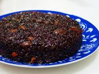 桂圓酒香紫米糕