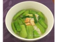 絲瓜麵線湯