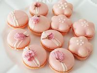 【Tomiz小食堂】粉紅櫻花草莓馬卡龍