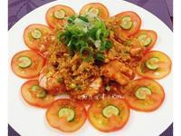 茄汁滑蛋大蝦