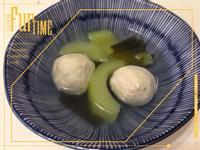 海帶芽黃瓜魚丸湯