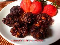 【免烤箱】黑巧克力燕麥球