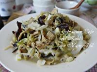 高麗菜炒豆皮