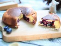 寶寶食譜【平底鍋藍莓蛋糕】