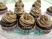 巧克力香蕉杯子蛋糕