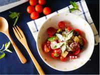 蕃茄起士沙拉