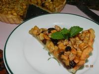 ㄚ曼達的廚房~焦糖核桃蘋果派