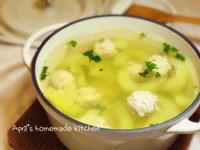 自製肉丸子黃瓜湯