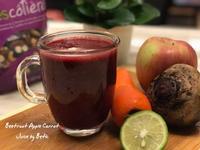 甜菜根蘋果紅蘿蔔蔬果汁