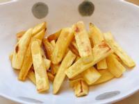 寶寶食譜~免炸地瓜薯條