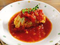番茄燉高麗菜捲一超簡單 低脂 健康