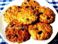 【高纖健康】燕麥葡萄乾餅乾