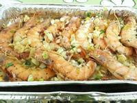 懶人菜譜-蒜香奶油烤蝦蝦