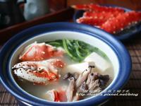 母親節感恩日式套餐~帝王蟹味噌火鍋