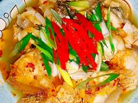 🐉🐋🌷清蒸辣味龍膽石斑魚片