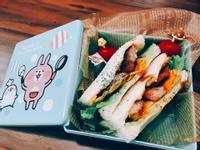味增松阪豬三明治小餐盒
