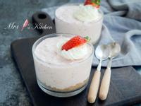 【免烤甜點】草莓慕絲杯