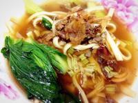 油蔥肉燥麵(麵攤版-陽春麵、滷肉飯)