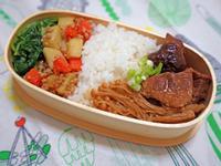 滷胛心肉&金針菇