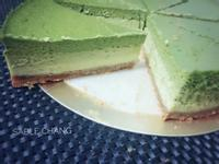 漸層~小山園抹茶重乳酪(烤箱版)