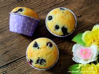 藍莓瑪芬蛋糕 ( 無奶油 )
