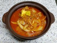 (韓式)櫛瓜豬肉鍋 애호박돼지고기찌개