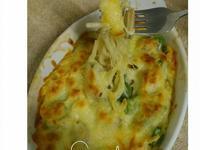 (焗烤)蛤蜊義大利麵