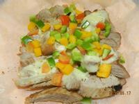 ㄚ曼達的廚房~起司蔬菜松板豬(氣炸鍋)