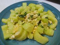 鹹蛋炒大黃瓜